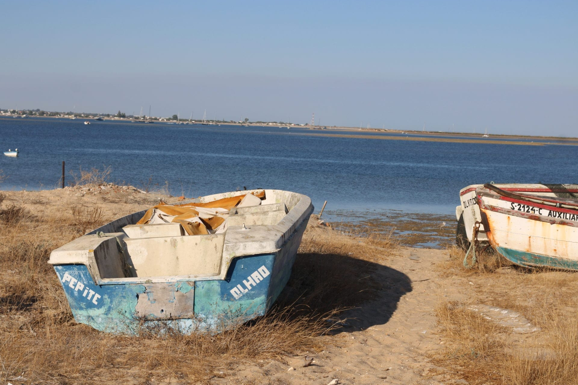 Boat Tour in Olhao - Culatra