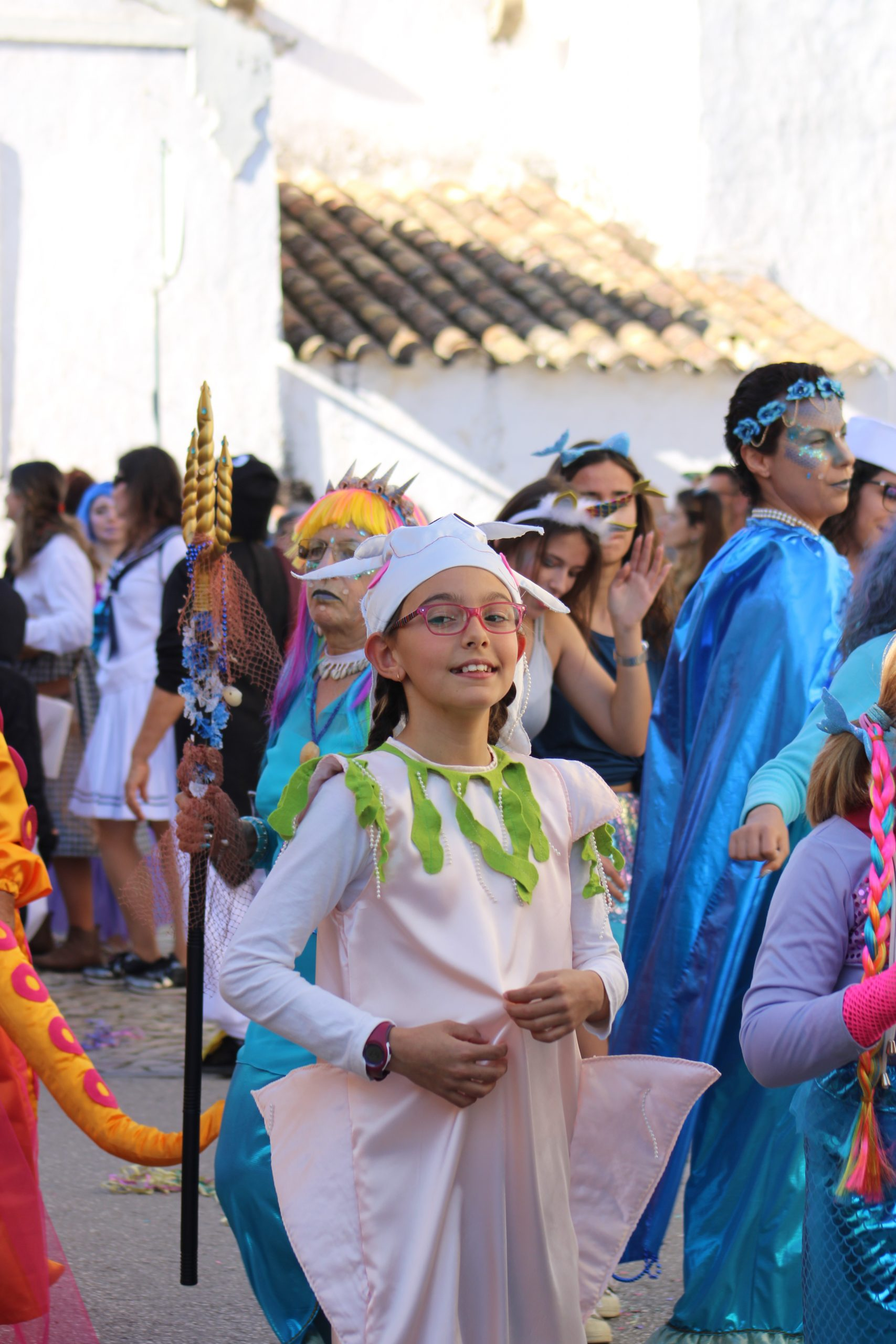 Сarnival on the south of Portugal: Moncarapacho village
