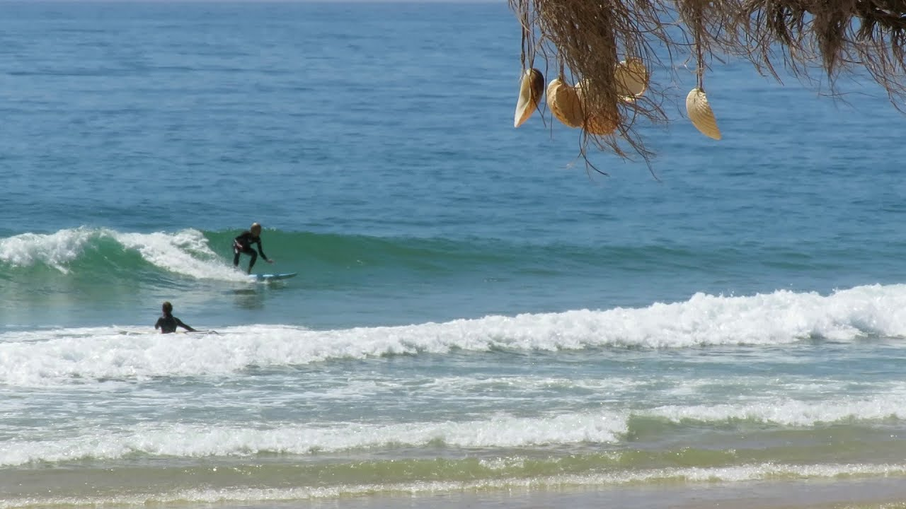 Surfing on the south of Portugal - Algarve