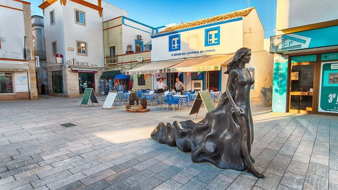 Olhao markets and Old Town walk
